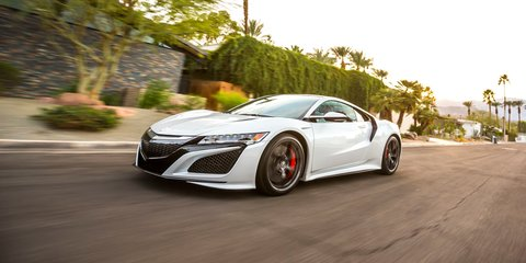 2017 Honda NSX production to begin in late April