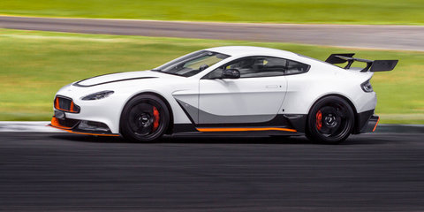 2016 Aston Martin Vantage GT12 tears up Queensland Raceway