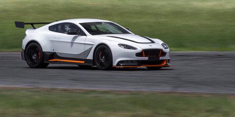2016 Aston Martin Vantage GT12 tears up Queensland Raceway