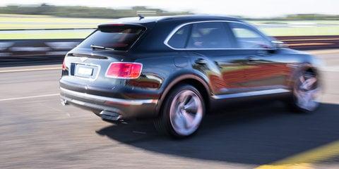 2016 Bentley Bentayga 0-100-0 acceleration test