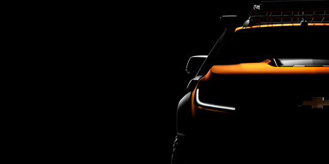 2017 Holden Colorado: GM previews tough Chevrolet concept for Bangkok show