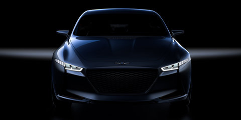 Genesis G70: Hyundai teases sedan concept ahead of New York auto show - video