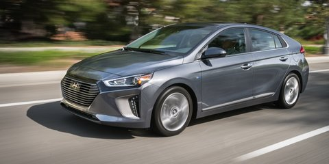 Hyundai Ioniq hybrid, plug-in hybrid and EV revealed