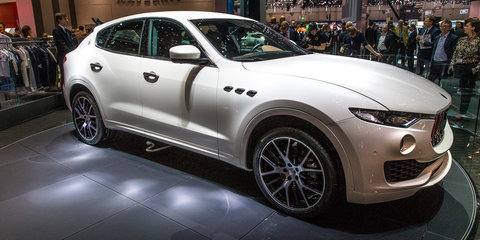 Maserati Levante SUV no mortal sin, will attract 'many, many women'