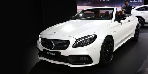 Mercedes-AMG C63 Cabriolet revealed