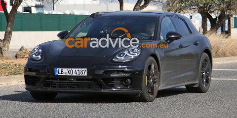 2017 Porsche Panamera wagon and interior spied