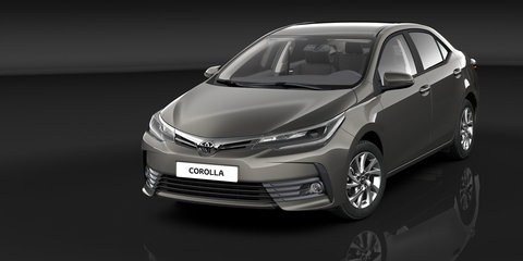 2017 Toyota Corolla sedan revealed, Australian launch due early next year