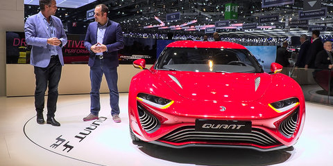 Concept cars at the 2016 Geneva Motor Show : Italdesign, Pininfarina, Rimac and more