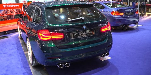 BMW Alpina B7, B3 and B4 BiTurbo : 2016 Geneva Motor Show