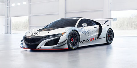 Honda NSX GT3 New York reveal signals 2017 racing intent