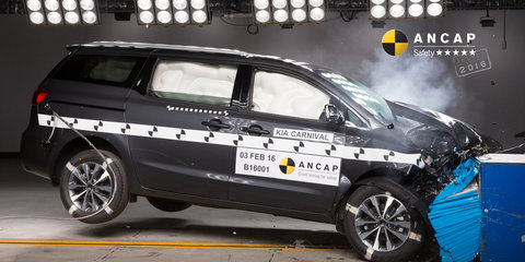 2016 Kia Carnival gets five-star ANCAP safety rating