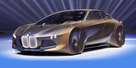 BMW Vision Next 100 concept unveiled