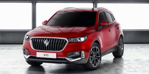 Borgward BX5 and Projekt BX6 TS unveiled in Geneva