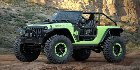 Jeep Trailcat, Crew Chief 715 and other mean concepts to debut at Easter Safari