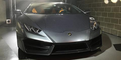 2016 Lamborghini Huracan LP580-2 rear-wheel drive coupe unveiled