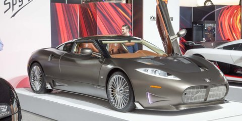 Spyker C8 Preliator displayed in New York