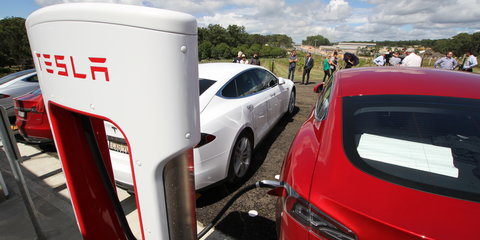 Tesla Supercharger now open in Port Macquarie