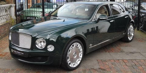 Queen Elizabeth II's Bentley Mulsanne goes on sale