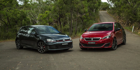Peugeot 308 GTi 270 v Volkswagen Golf GTI Performance Comparison