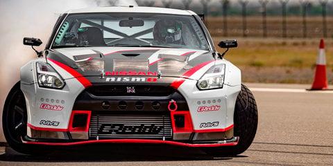 Nissan GT-R Nismo breaks drifting world record