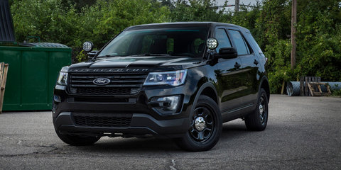 Ford unveils 'no profile' light bar for Police Interceptor vehicles