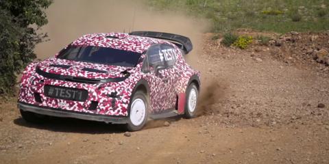 2017 Citroen C3 previewed by WRC racer ahead of Paris debut - video