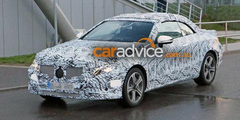 2018 Mercedes-Benz E-Class cabriolet spied testing