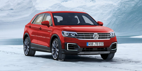 Volkswagen small SUV rendered: Polo companion likely for 2018