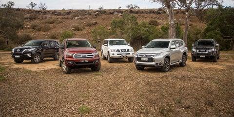 Family 4x4 SUV Comparison: Ford Everest v Isuzu MU-X v Mitsubishi Pajero Sport v Toyota Fortuner v Nissan Patrol