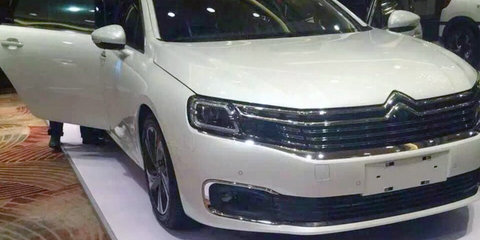 Citroen C6: China-only flagship revealed ahead of Beijing debut