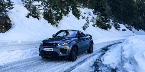Destination Drive : Courchevel, France in a Range Rover Evoque Convertible