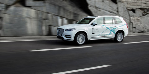 Volvo 'Drive Me London' trial puts regular drivers in driverless cars
