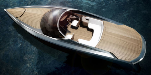 Aston Martin-styled AM37 luxury powerboat collaboration unveiled in Milan