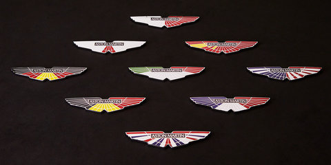 Art and cars:: Aston Martin V8 Vantage GTE racers get bespoke badging