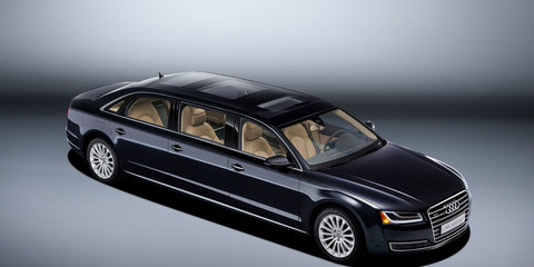 Audi A8L Extended:: bespoke six-door limousine revealed