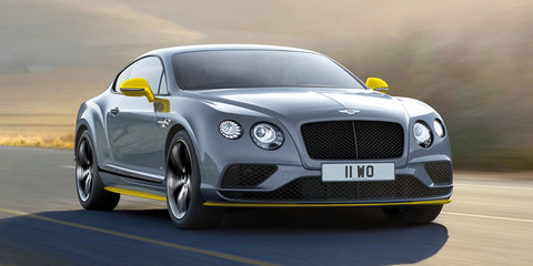 2017 Bentley Continental GT Speed update and new Black Edition revealed