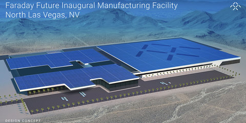 Faraday Future halts construction of US$1 billion car factory due to cash crunch