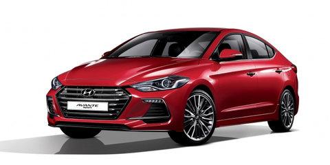 2017 Hyundai Elantra SR unveiled in South Korea