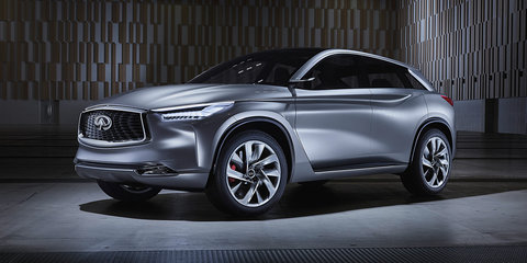 Infiniti QX Sport Inspiration concept unveiled, previews new QX50