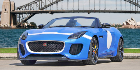 Jaguar F-Type Project 7 arrives in Australia
