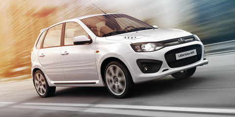Lada Kalina NFR revealed as company's fastest production car