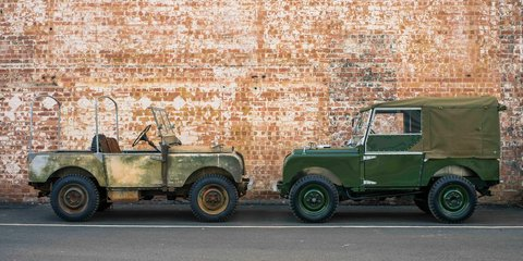 Land Rover Reborn models unveiled