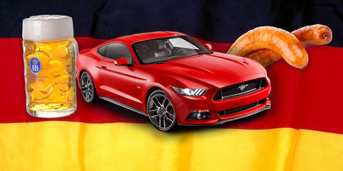 Ford Mustang is smashing the sales charts in Germany too