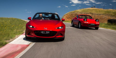 Mazda MX-5 Old v New Comparison - First-generation NA v fourth-generation ND