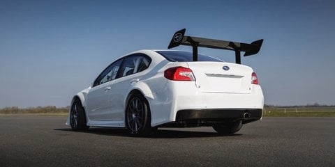 Prodrive, Subaru reveal new WRX STI built for Isle of Man record attempt