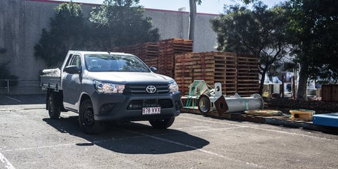 2016 Toyota HiLux Workmate 4x2 Single-Cab Review