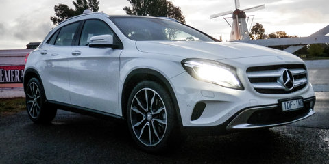2016 mercedes benz gla250 4matic week with review photos caradvice. Black Bedroom Furniture Sets. Home Design Ideas