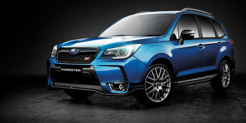 2016 Subaru Forester tS: $54,990 STI special in Australia from June