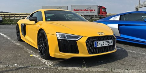 2017 Audi R8 V10 plus Review: Autobahn blast