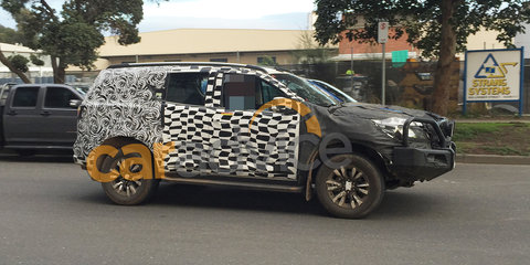 2017 Holden Trailblazer spied testing in Melbourne